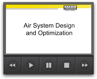 Kaeser Compressors - Air System Design and Optimization